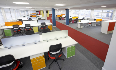 Claughtons helps KC to create vibrant new work space