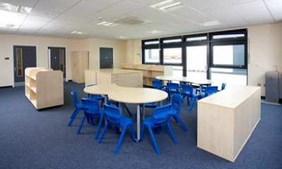 Claughtons adds finishing touch to brand new primary school