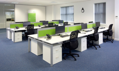 Your Green Deal Provider works with Claughtons to create new workspace