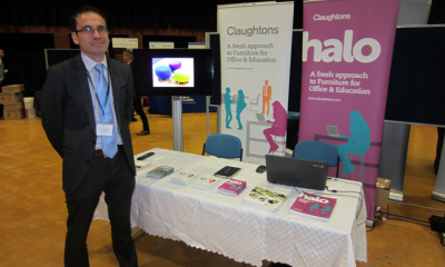 Claughtons attend the University of Sheffield Suppliers' Exhibition